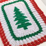 Receita Toalha de Crochê de Natal com Barbante EuroRoma Colorido