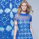 Receita Vestido Verão Azul com Linha Camila