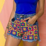 Receita Shorts Bahia com Linha Anne