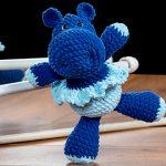 Receita Hipopótamo Azul com Linha AmiguLove Pelúcia
