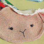 Receita Bolsa Infantil Ovelha com Linha Bella Arte