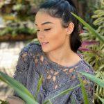 Receita Blusa com Pala de Flores em Crochê com Fio Mohair