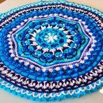 Centro de Mesa de Crochê Multicolorida com Barroco Maxcolor