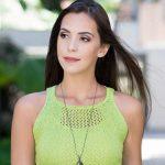Regata de Tricô Verde com Camila Fashion