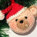 Amigurumi Ursinho Noel com Amigurumi Pelúcia