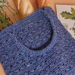 Bolsa de Crochê Sacola com Fio Cappio