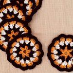 Porta Copo de Crochê Amaro com Linha Duna