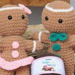 Amigurumi Biscoitinho de Natal com Fio Amigulove Pelúcia