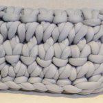 Almofada de Crochê Arábia com Fio Jumbo XL