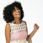Blusa de Crochê Candy Color com Linha Camila Fashion