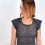 Vestido de Crochê Classic com Euroroma Passione