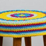 Capa de Crochê para Banco Astral com Barroco Maxcolor