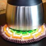 Descanso de Crochê de Panela com Barroco Maxcolor