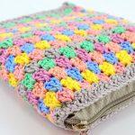 Estojo de Crochê Para Agulhas de Crochê com Fio Amigurumi