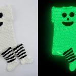 Conjunto de Crochê Body e Meia com Fio Amigurumi Glow