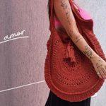 Bolsa de Crochê Bag com Linha Bella Arte