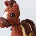 Amigurumi Cavalo Strella com Fio Amigurumi Soft